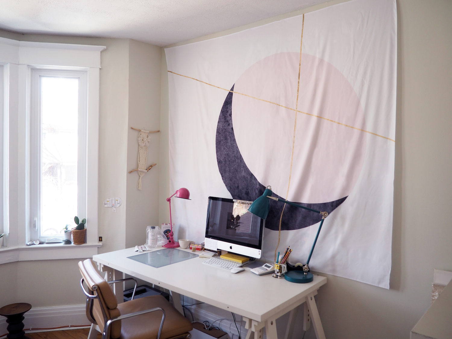 How To Hang Wall Tapestry fieldguided shows us 5 dreamy ways to use wall tapestries