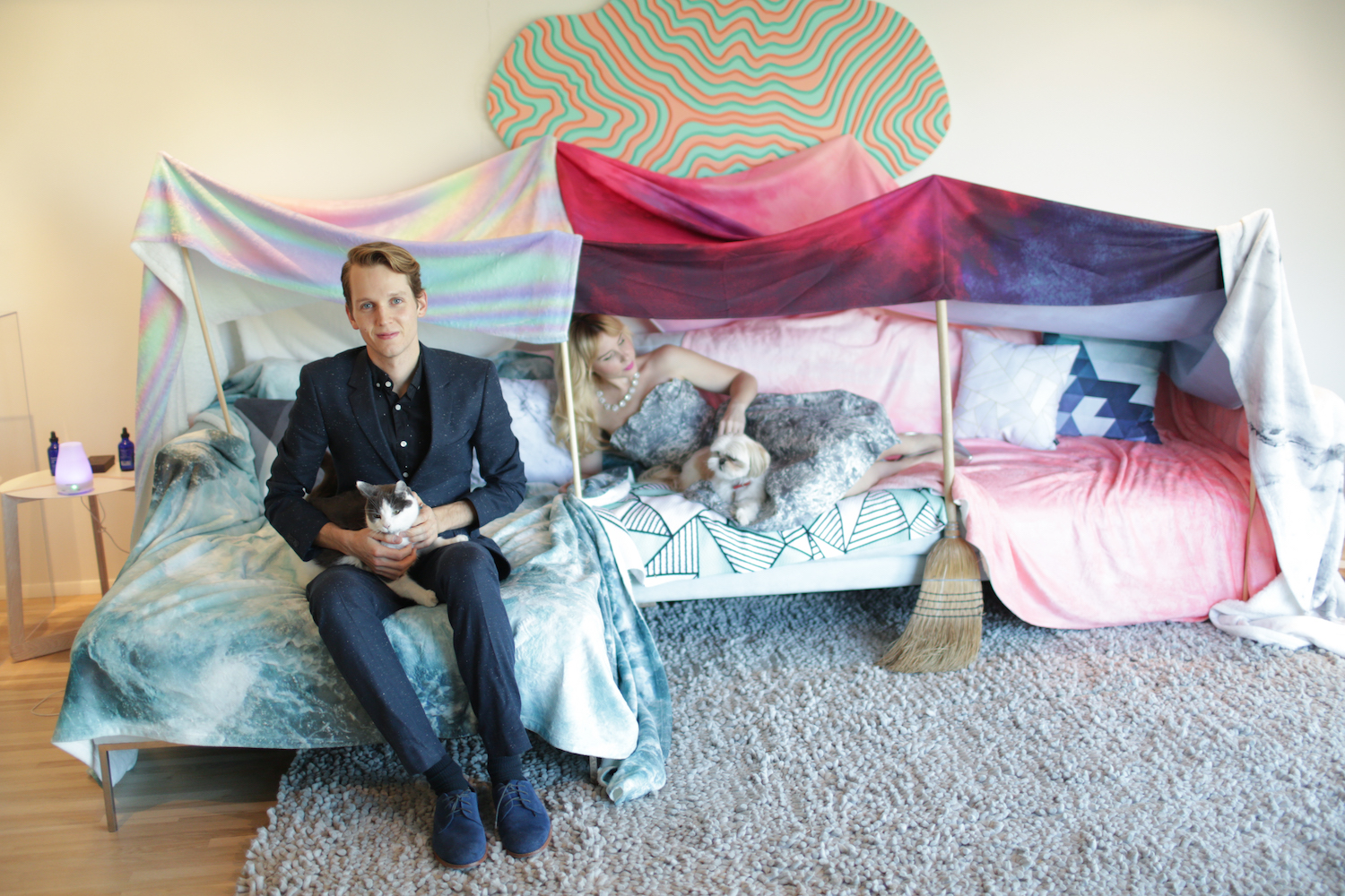 How To Build A Blanket Fort For Adults Society6 Blog