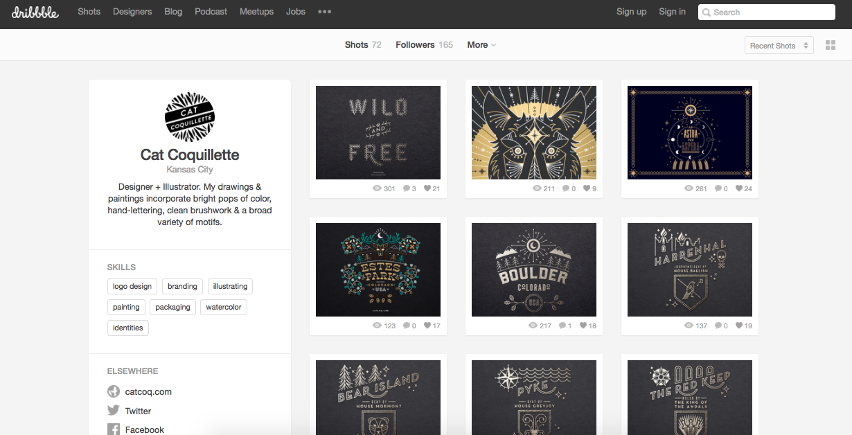 600 followers on instagram on behance Serious Creatives Should Seriously Consider These Social Platforms Society6 Blog