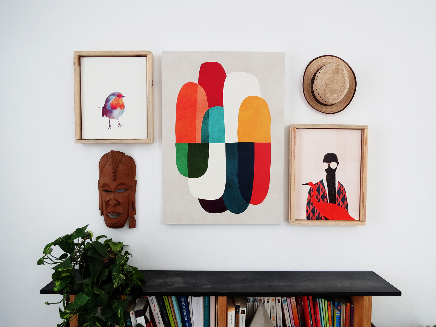 A Fresh Way To Showcase Canvas Prints: DIY Floating Frames ...