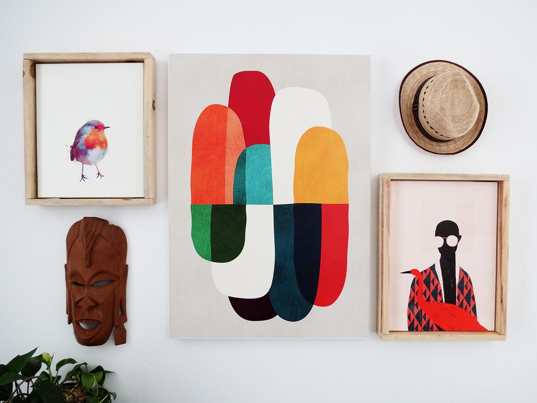 22efaececdc A Fresh Way To Showcase Canvas Prints  DIY Floating Frames ...
