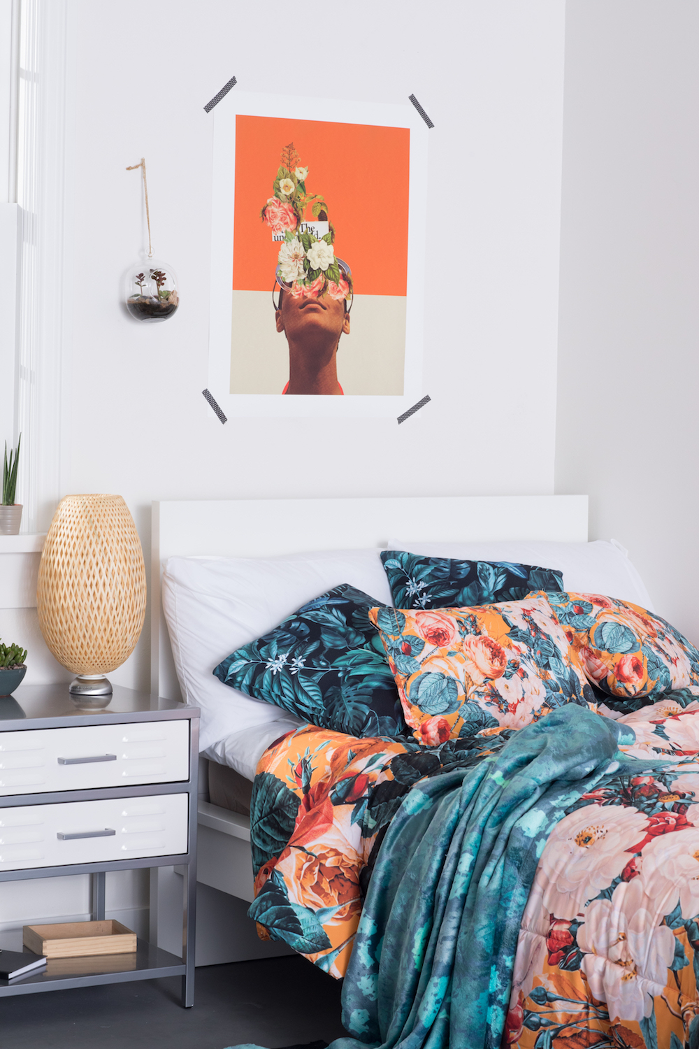 What S Your Dorm Style Rock Amp Roll Vs Floral Society6 Blog
