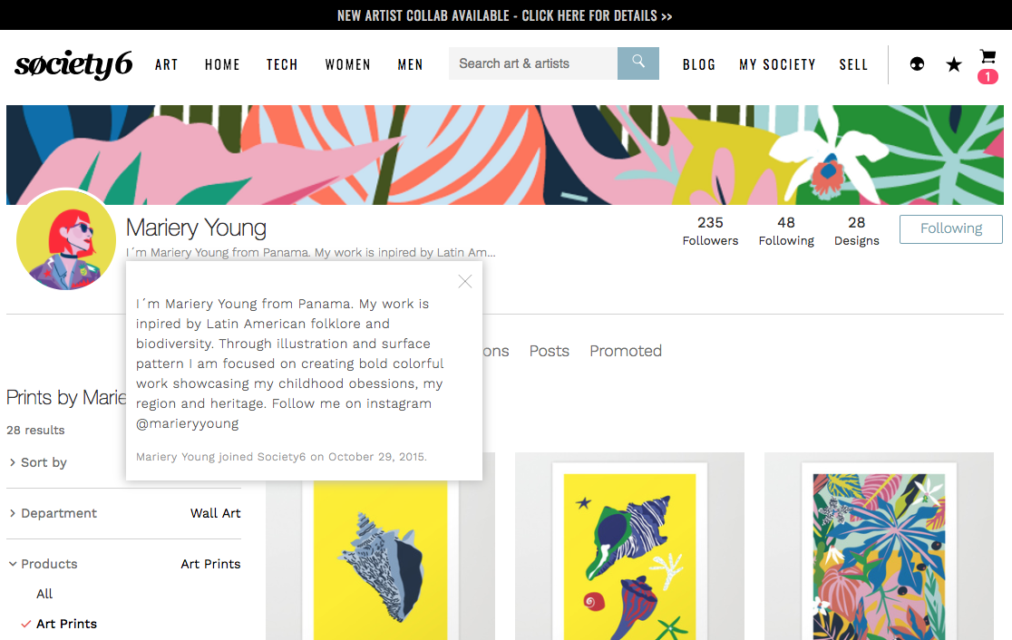Write The Perfect Artist Bio With These Five Simple Tips Society6 Blog