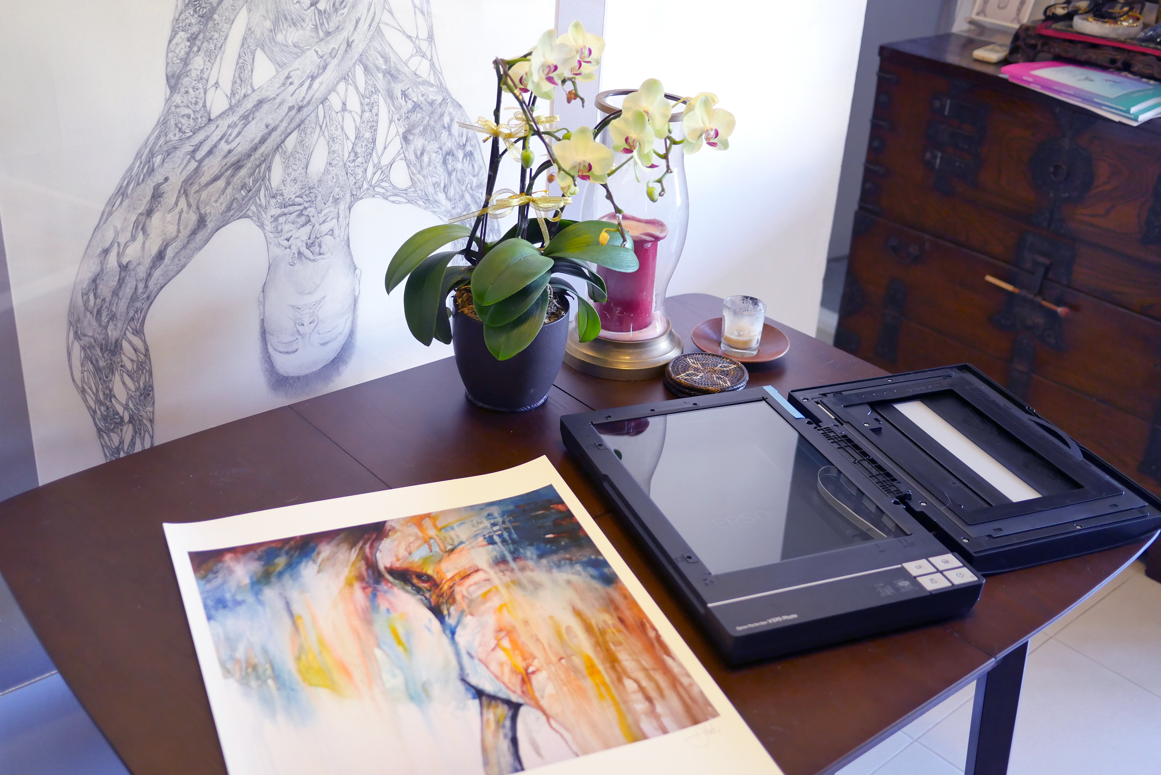 How to Scan Your Artwork for Reproduction on Society6 Products