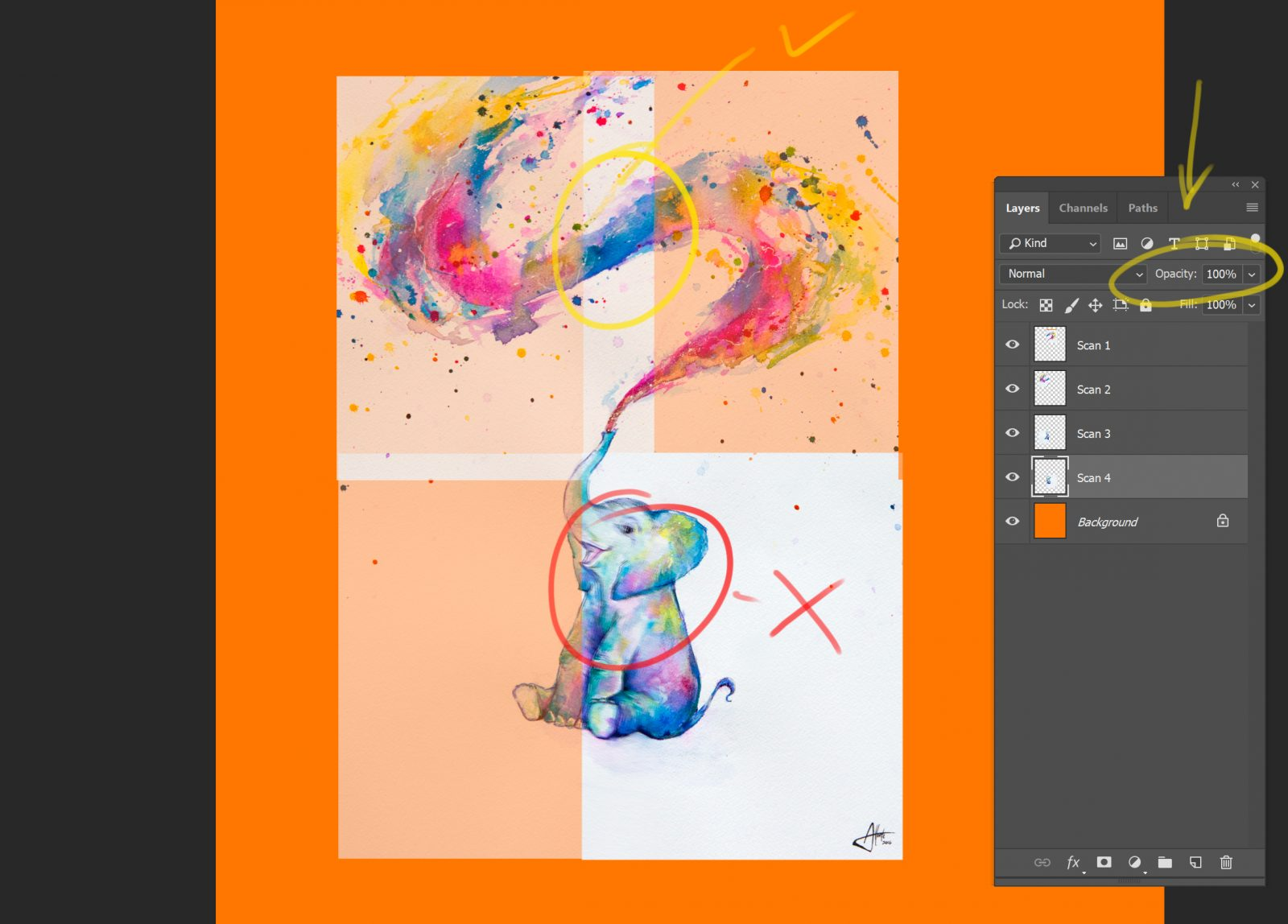 How To Scan Your Artwork For Reproduction On Society6 Products Society6 Blog