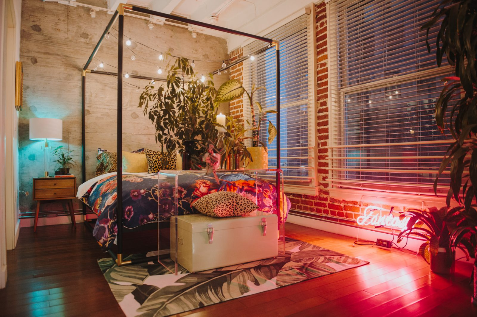 6 Ways To Turn A Loft Into An Urban Jungle Paradise - Society6 Blog