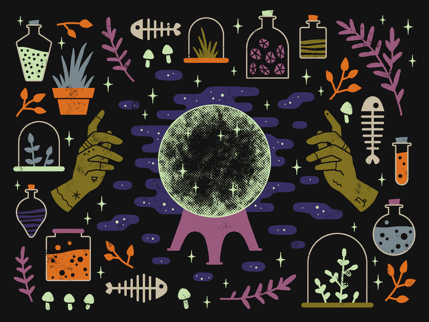 Your Monthly Horoscope: October 2018 - Society6 Blog