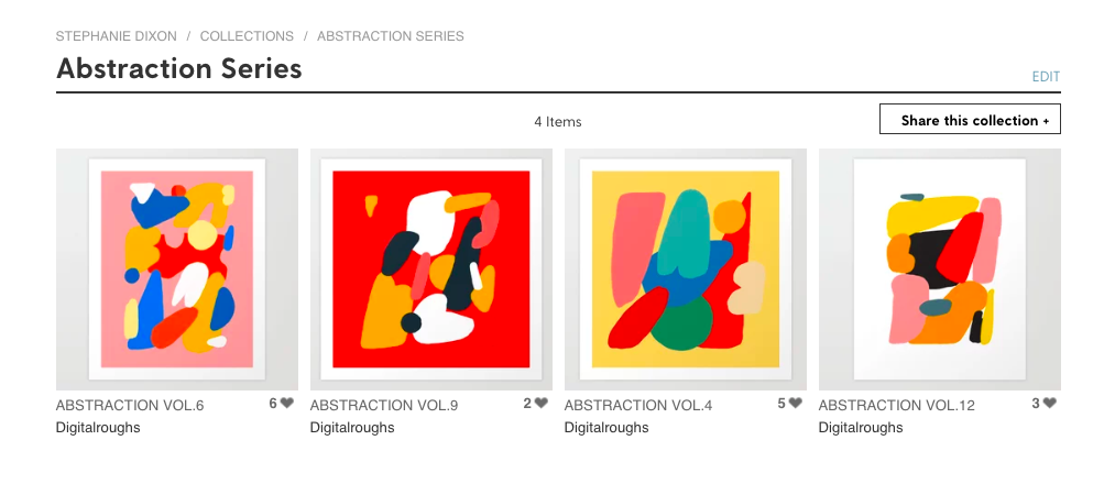 Should We Take Up Collection To Buy >> How To Make Collections Your Customers Will Love Society6 Blog