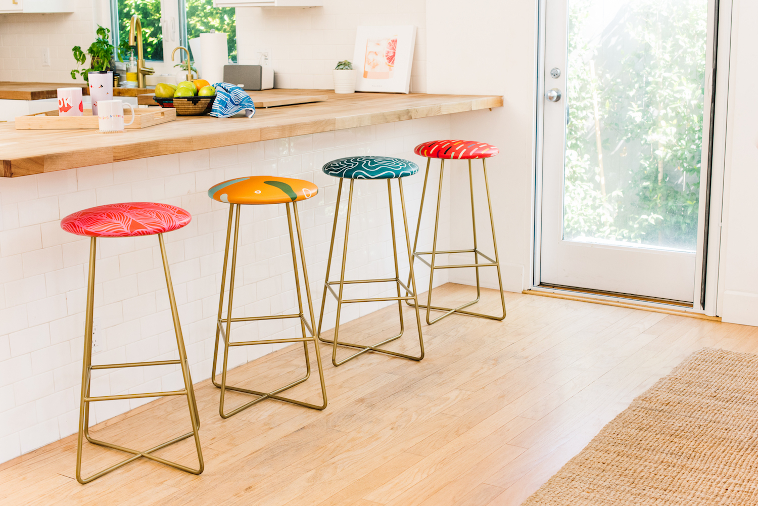 Fantastic Heres The Easiest Way To Find Out What Height Of Bar Stool Onthecornerstone Fun Painted Chair Ideas Images Onthecornerstoneorg
