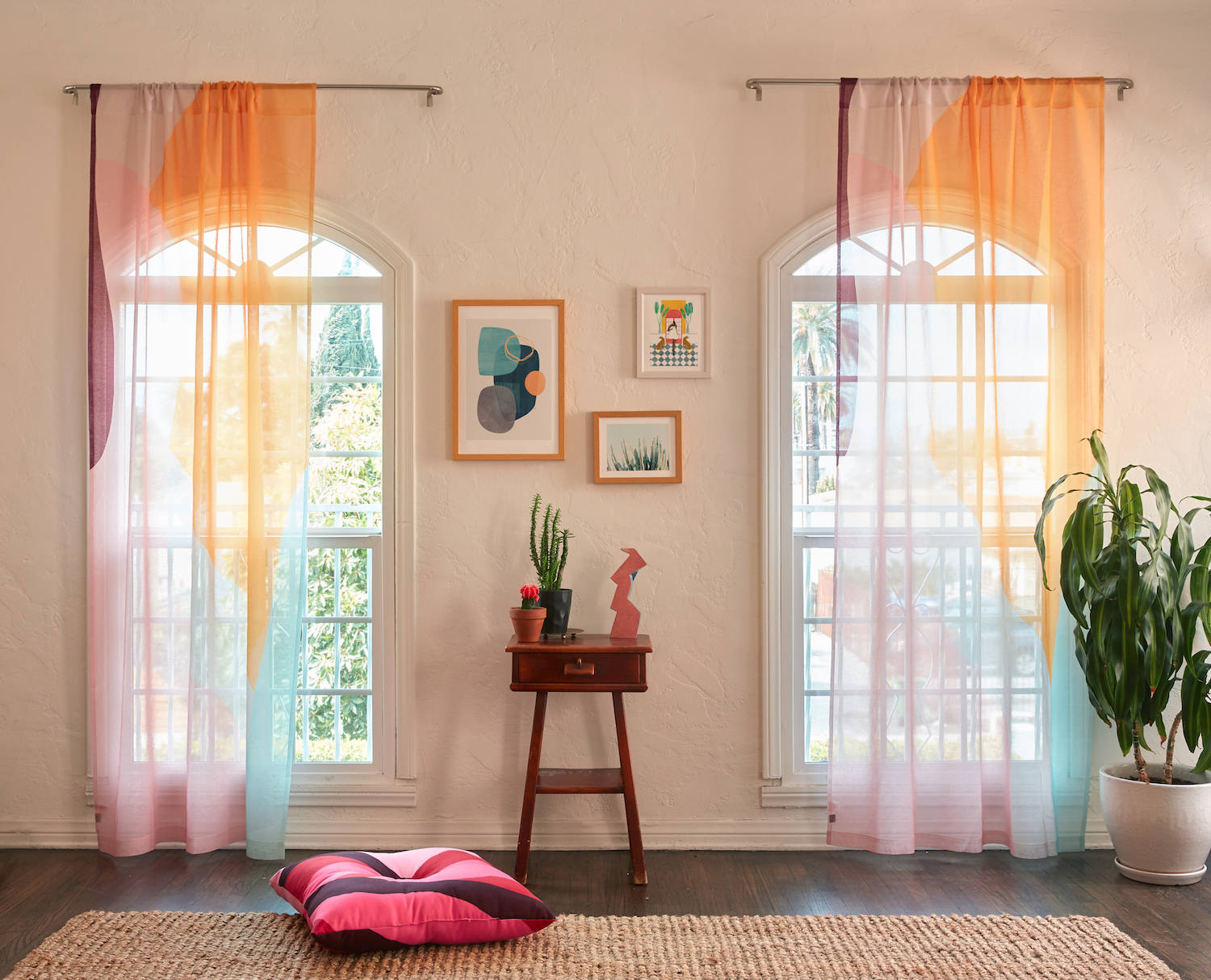 ... new window curtain options are a simple way to take your room from dull and drab to bright and airy. Read on for all the details, then get to hanging!