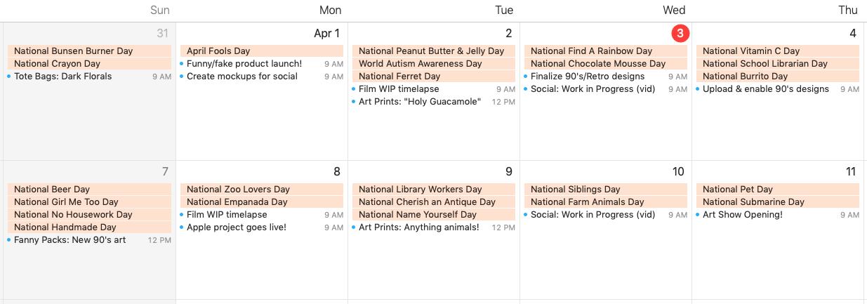 How to Build a Seasonal Marketing Calendar for Your Art